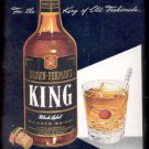 June 2, 1947  Brown-Forman's King Black Label Whisky   ad (#6250)