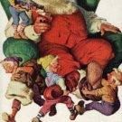 1960 Coca- Cola ad w/ Santa (#403)