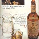 1965 Seagram's V.O.  Canadian Whisky  ad (#5895)