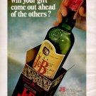 1967   J & B rare Scotch Whisky   ad (#5616)