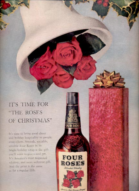 1960  Four Roses Blended Whiskey  ad (#5497)