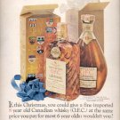 1960  Imported O.F. by Schenley- Canadian Whisky  ad (#5482)