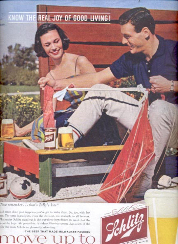 1960  Schlitz Beer   ad (#5480)