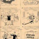 1947 Statler Hotels ad ( # 2154)