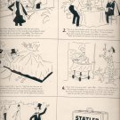 1949 Statler Hotels ad w/ Mystic Mike (#45)