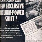 Dec. 1939  Chevrolet new exclusive vacuum-power shift    ad (#5988)