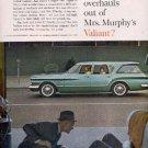 1961  Valiant ad (  # 2672)