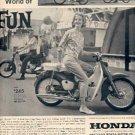 1962 Honda Motorcycle ad (# 2348)