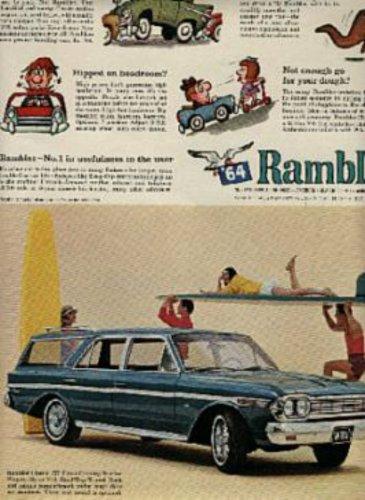 1964  Rambler    ad ( # 638)