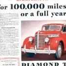 1939  Diamond T Motor Car Company ad ( # 2627)