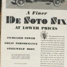 1930 De Soto Six ad. (# 125)