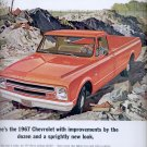 Nov. 5, 1966   - 1967 Chevrolet Pickup      ad  (#2661)