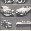 April 10, 1970    Volkwagen ad of 1949 cars     ad  (#2426)
