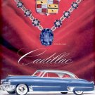 Sept. 1949    Cadillac Motor Car Division- General Motors Corp.    ad  (#2927)