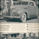 June 5, 1939 Plymouth builds great cars    ad (#6054)