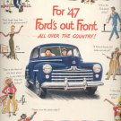 April 28, 1947 Ford for '47      ad (#6106)