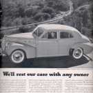 1940 Pontiac Torpedo Eight 4-door touring sedan     ad (#6006)