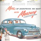 July 22, 1946 Mercury car   ad  (#3637)