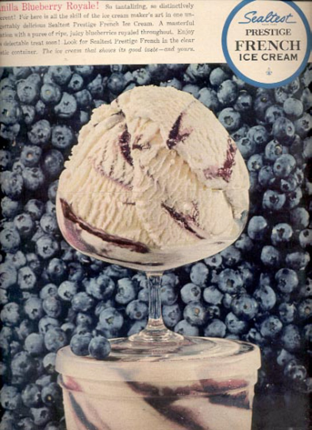 1964     Sealtest Prestige French Ice Cream ad (# 4850)