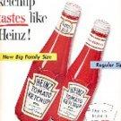 1957  Heinz    tomato Ketchup ad (# 2766)