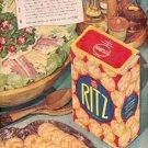 1946  Nabisco Ritz ad (# 2483)