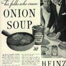 1934  Heinz onion Soup ad (#  677)