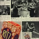 1937  Ritz Crackers ad  (# 1223)