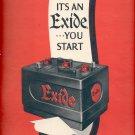 Sept. 13, 1948   Exide Batteries  ad  (#4205)