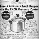 Sept. 22, 1947       Ekco Pressure Cooker     ad  (#6279)