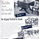 Sept. 1949  Brandt tables-  Brandt Cabinet Works, Inc.     ad  (#3078)