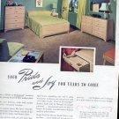 Jan. 1947  Mengel Permanized Furniture    ad (#139)