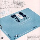 1947 Yes Tissues by Personal Products Corporation  ad (# 2292)