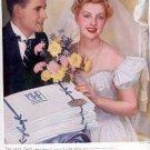 1939 Wamsutta Supercale Sheets ad ( # 2716)