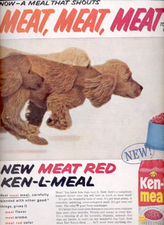 1959 Ken- L- Meal dog food   ad (#5546)