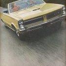 1965  Pontiac  GTO &  Le Mans    ad (#5902)