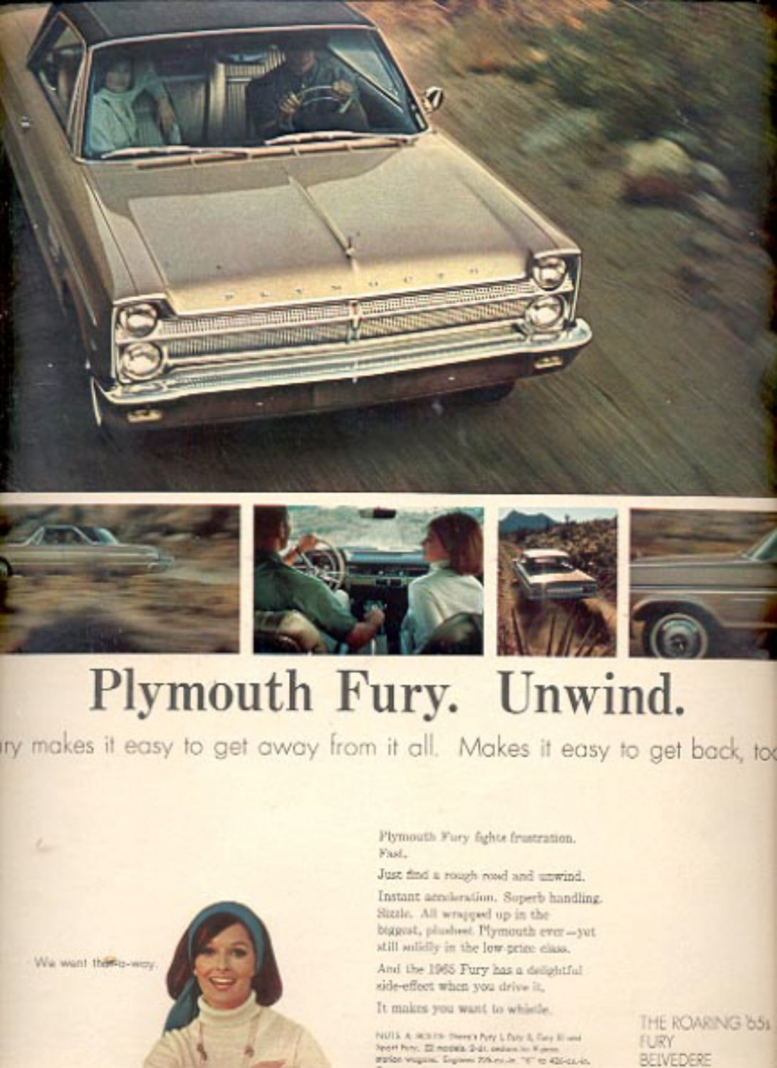 1965 Plymouth Fury  ad (#5899)