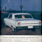 June 16, 1964 Chevelle Malibu super Sport Coupe by Chevrolet    ad (# 5335)
