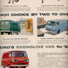 1964    Ford's Econoline van for '64  ad (#5721)