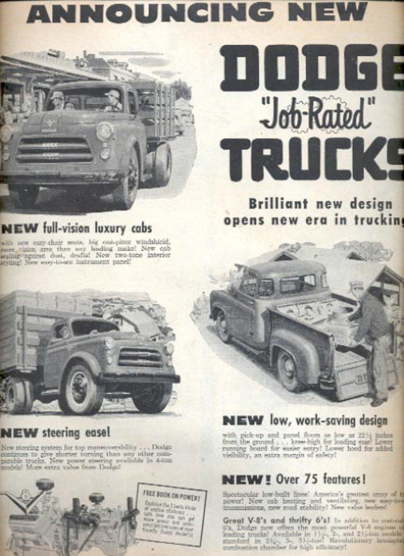 Nov. 1953 Dodge Trucks  ad (#5590)