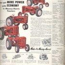 1953 Massey- Harris Tractors   ad (#5577)