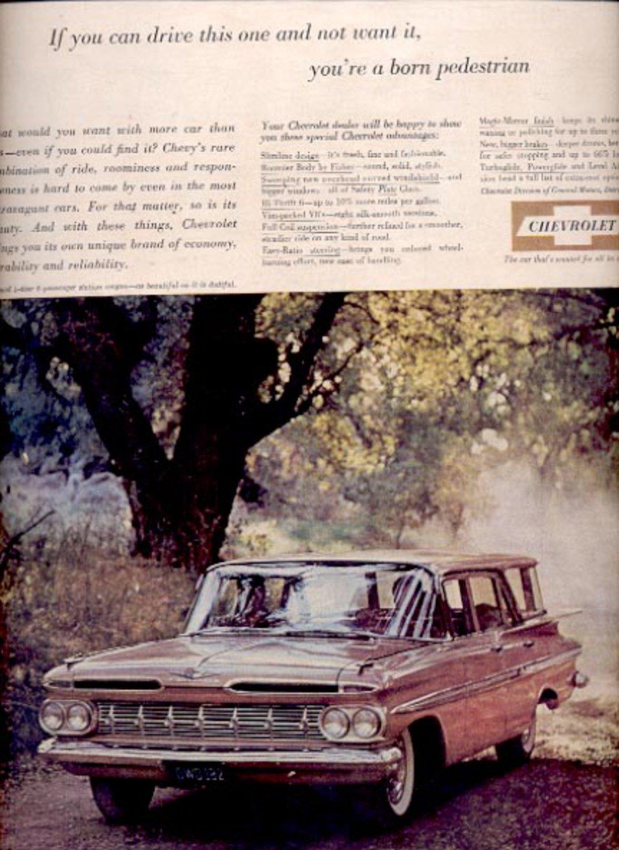 1959 Chevrolet station wagon    ad (#5555)