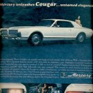 Oct. 15, 1966 Mercury Cougar  for 1967 ad (#5514)