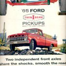 Nov. 20,1964 Ford 1965 twin I beam independent suspension  pickups  ad (# 5317)