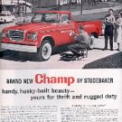 1960  Champ by Studebaker ad (#  1870)
