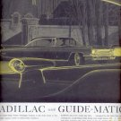1960  Cadillac with Guide- Matic power headlight control  ad (# 5296)