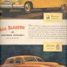 1946  Trail Blazers in postwar Styling! Kaiser Special and Frazer  ad (# 5091)