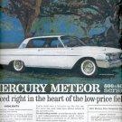 Oct. 22, 1960 Mercury Meteor 600 & 800 series. 1961 Mercury   ad (# 4560)