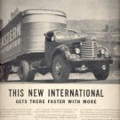 Sept. 1946  International Trucks  ad (# 5077)