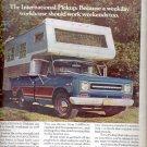 1970  Internatinal Harvester Company Pickup  ad (#4059)