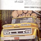 1960  Chevrolet truck ad (# 5060)